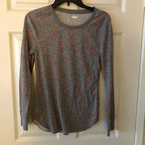 Grey Candy Cane Thermal